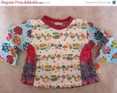 ON SALE Fruits of the forest Tshirt - Farbenmix style - size 2