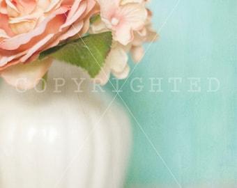 Spring Awakenings Pink Floral Print (16x24)