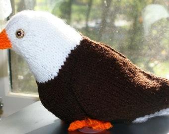 Bald Eagle, Knit Pattern
