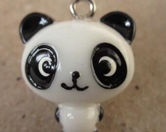 4 pcs  21 x 18 x 14 mm beautiful resin Panda cabochons Charm craft jewelry by sunshinepark99