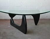 Authentic Herman Miller Black Noguchi Coffee Table