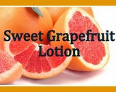 Sweet Grapefruit Lotion, Scented Lotion