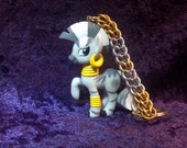 Custom Zecora My Little Pony Friendship is Magic Chainmaille Keychain