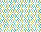 Michael Miller AQUA RIPPLES FLANNEL Premium Cotton Fabric, 1/2 yard of fabric