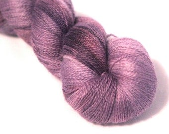 Alpaca/Silk Laceweight- Secret Garden- Discontinued