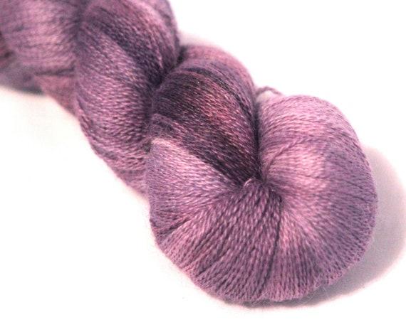 Alpaca/Silk Laceweight- Secret Garden- Discontinued