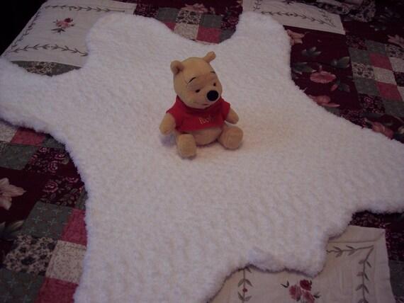 Baby Bear Rug Blanket Photo Prop