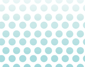 SALE Cotton Ombre Dots in Aqua by Riley Blake Designs - 1 and 1/4  yard end of bolt