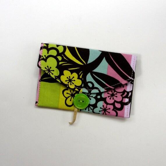 Card Case,  Business Card, Fabric Card Case