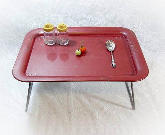 Vintage Retro Breakfast In Bed Tray Tv Tray By Thewhitepelican