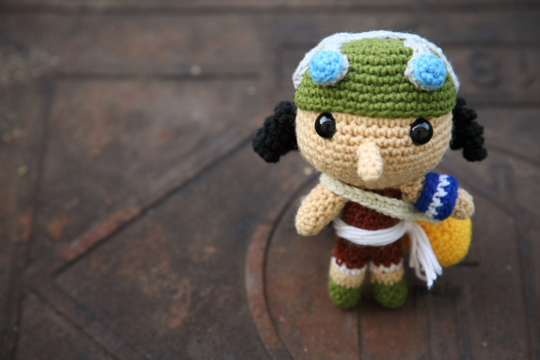 Amigurumi One Piece : PATTERN: Usopp One Piece Amigurumi crochet pattern PDF