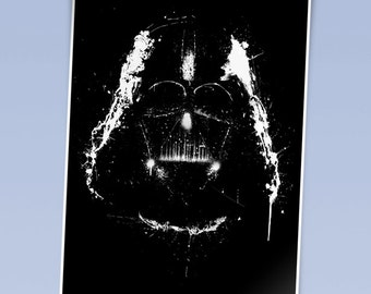 Star Wars art print Darth Vader (420mm x 297mm)