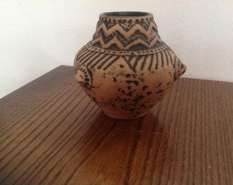 "Vintage art pottery West Germany  ceramic vase 5"" H"