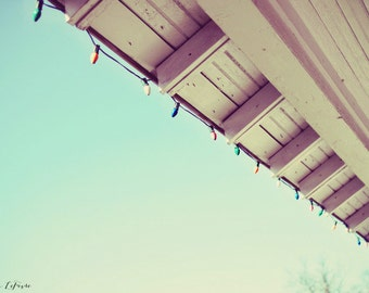 lights, sky, holidays, fine art photography