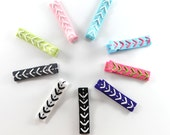 You Pick 3 Arrow Chevron Hand Stitched Hair Clips