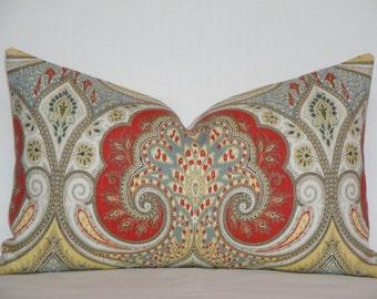 Kravet - Latika In Festival Decorative Pillow Cover / IKAT / Throw Pillow / Accent Pillow / Sofa Pillow
