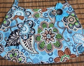 Paisley blue purse, Handbag