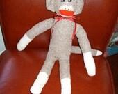 Traditional Sock Monkey