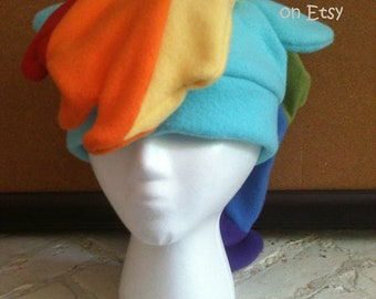 Rainbow Dash Fleece Hat