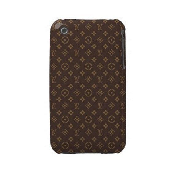 iPhone 3G/3GS case, iPhone 3G/3GS hard case, best iPhone case, iPhone cases, iPhone 3G/3GS case decoupage Brown Louis Vuitton - ($19.5)