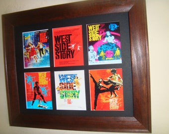 WEST SIDE STORY - miniature reproduction theatrical posters