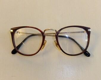 Vintage Eyeglass Frames New Old Stock : Vintage Stereoflex Cat Eye Eyeglasses New Old Stock by Tomyres