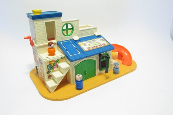Fisher price sesame Street Clubhouse 1970s toy 937