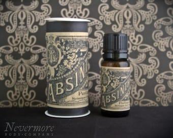 Perfume Oil Absinthe Green Fairy Nevermore Body Company