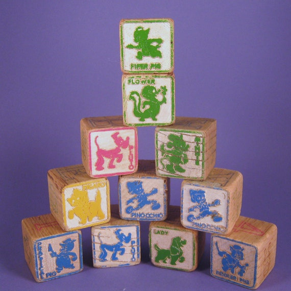 Wood Blocks, Disney Character
