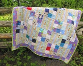 Soft and Cuddly Patchwork Baby Quilt