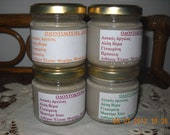 Organic Toothpaste Homemade,  Without Fluoride (4 flavors)