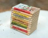 Vintage Miniature A Tiny Golden Books by Dorothy Kunhardt - Set of 12
