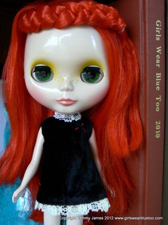 TLC Vintage Penny Brite Velvet Princess dress