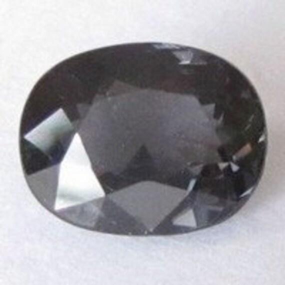 Natural Titanium Spinel, Sri Lanka (Ceylon), Unheated, Oval 8.4x6.6x4.5mm, 2.05 carats