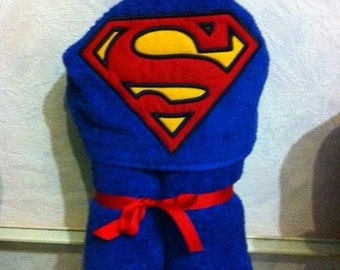 Superhero Hooded Towel