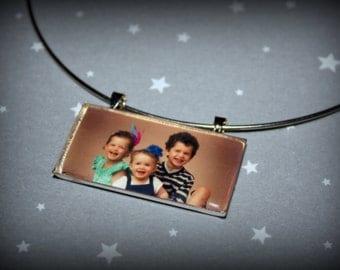 Custom Photo Resin Pendant