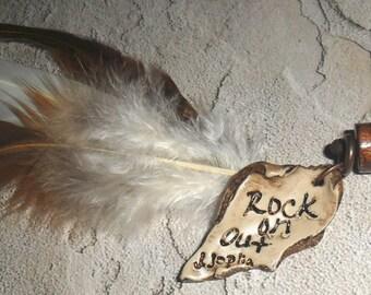 Janis Joplin Inspired  Necklace