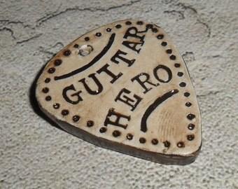 Guitar Hero Inspired focal pendant