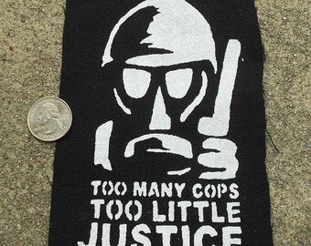 Cops and Justice Patch