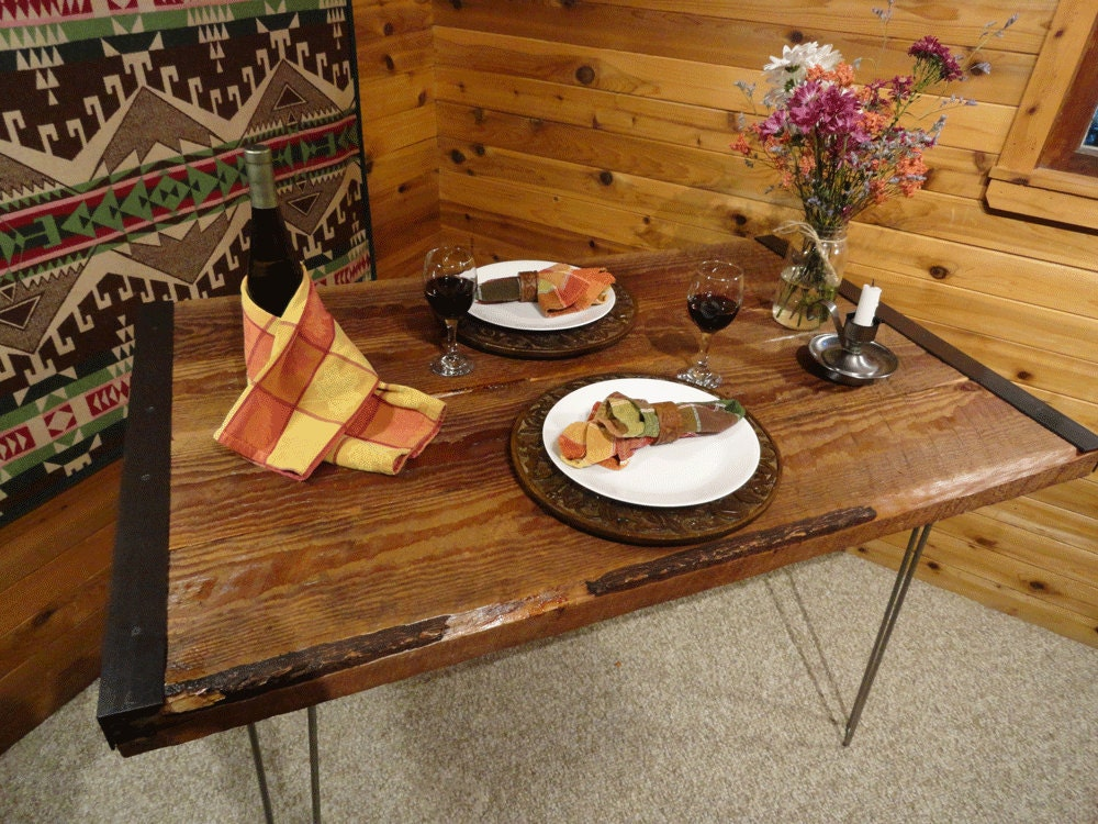 small old reclaimed barnwood restaurant dining by mthoodwoodworks. Black Bedroom Furniture Sets. Home Design Ideas