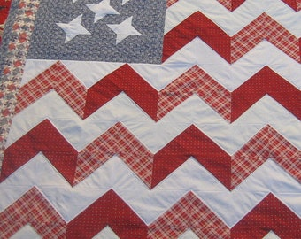 The Stars and Stripes Americana Quilt Pattern
