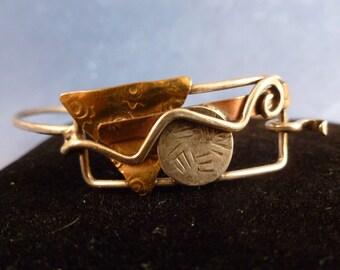 Retro tri color bracelet. (B56)