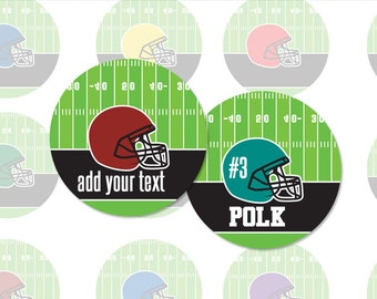 EDITABLE FOOTBALL HELMET - 4x6 - 1.313 Inch Digital Collage Sheet For 1 Inch Button Makers  (Instant Download No. 1704)