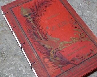 French Theme Journal, Writing Journal for Francophiles, Paris Lover's Gift , Art Journal, Custom Artist Sketchbook, Travel Journal, Boho