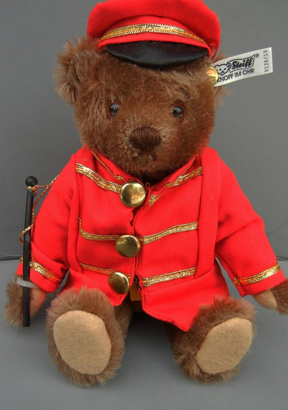 Steiff Golden Age Of The Circus Bandmaster Bear  LTD 1988 w/Box  Excellent Condition