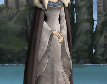 Lyana Stark Gown from the Game Of Thrones