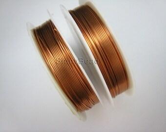 copper wire 22 gauge 42 feet,2 spools