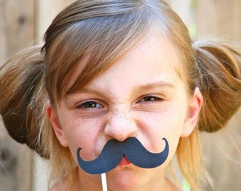 MIx and Match Mustache Photo Props - set of 12 - PRIORITY SHIPPING