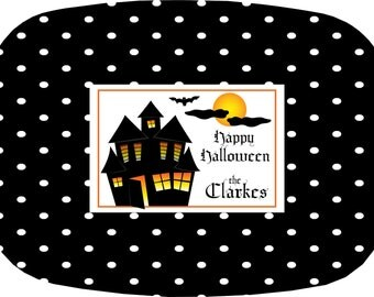 Personalized Halloween Platter