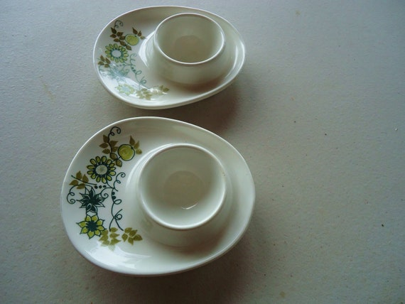 Vintage Retro Egg Holders, Made in Holland